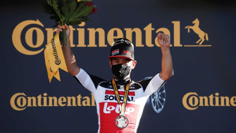 Tour de France: Bums bare but masks on