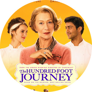 MyFrenchLife™ - films about France - 100 Foot Journey poster