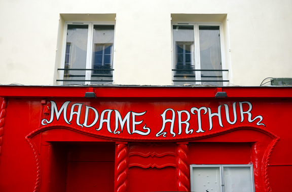 MyFrenchLife™ - Rue des Martyrs - Madame Arthur - The Only Street in Paris