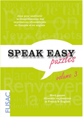 MyFrenchLife™ - FUSAC - Speak Easy Puzzles volume 3