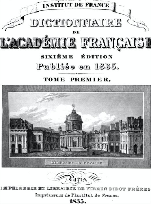 MyFrenchLife™-French language reforms - dictionnaire de l'acadèmie Française - MyFrenchLife.org
