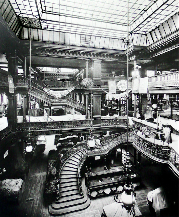 MyFrenchLife™ – MyFrenchLife.org - Rive Gauche today: Zola and Le Bon Marché - Le Bon Marché - Industrial Revolution
