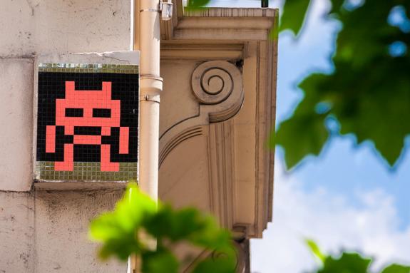 MyFrenchLife™ – MyFrenchLife.org – Invader - Invader Pixel - Street art - French urban artist