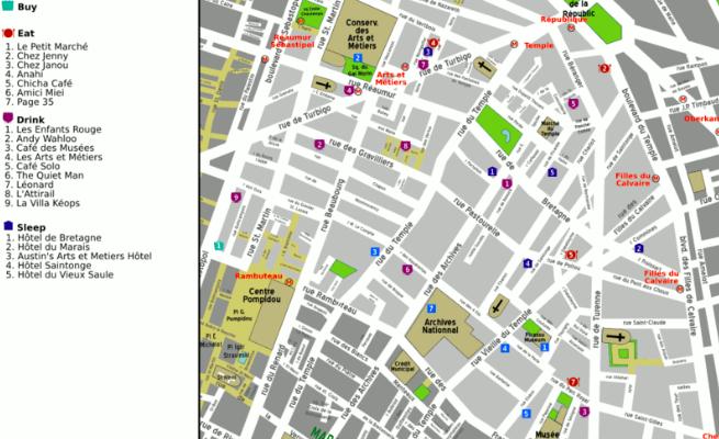 75003: lively, energetic historic  – 3rd arrondissement, Paris