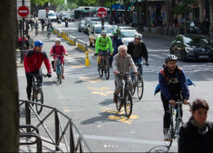 Paris bicycle revolution: COVID accelerates Paris going Green