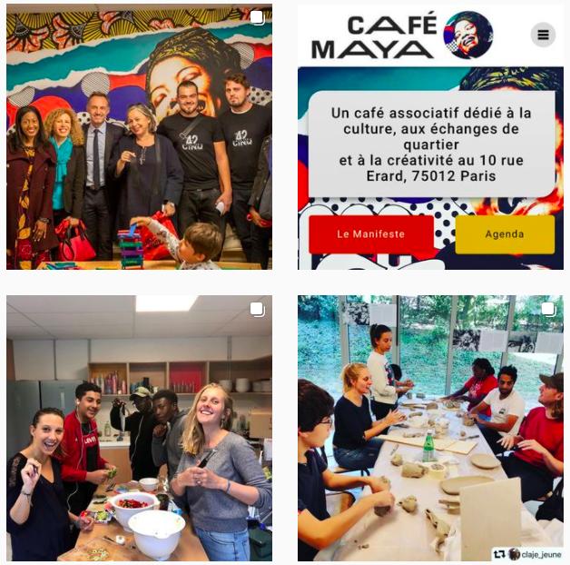 'MyFrenchLife™ – MyFrenchLife.org – Community cafes – Cafe Maya