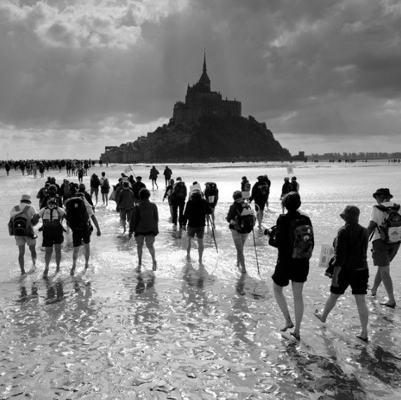 1000 years of pilgrimage: Mont-St-Michel and the modern pilgrim MyFrenchlife.org - @yvon_boelle Instagram