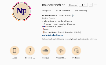 Interview: Michelle Teo — Naked French, learn French naturally  https://www.instagram.com/nakedfrench.co/