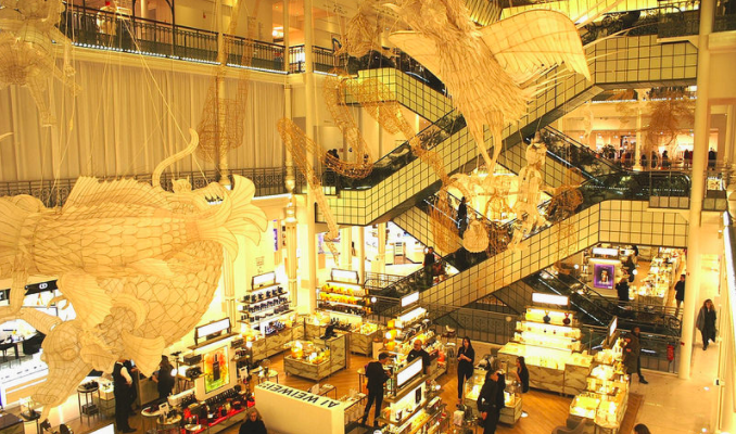 MyFrenchLife™ – MyFrenchLife.org - Rive Gauche today: Zola and Le Bon Marché - Le Bon Marché - Paris - Staircases - Architecture