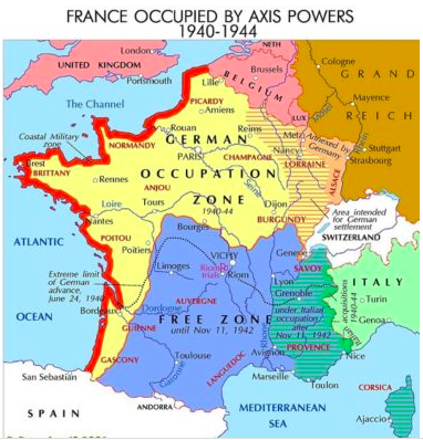 MyFrenchLife™ – MyFrenchLife.org - André Guitat - WW2 hero - Burgundy - Demarcation Line