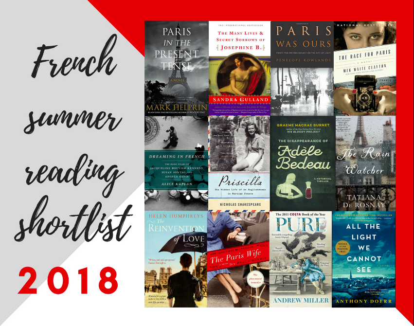 MyFrenchLife™ - MyFrenchLife.org - Jacqueline Dubois Pasquier - French summer reading list 2018: Top 11 English language books set in France