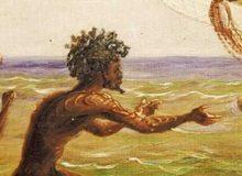 MyFrenchLife™ - MyFrenchLife.org - Jean-Jacques Rousseau - Noble Savage - French History - Lapérouse - Indigenous Tasmanians - Thomas Baines - Aboriginal Canoes