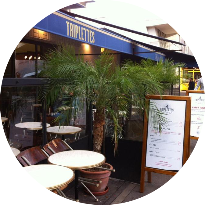 Triplettes - Lunch in Paris - MyFrenchLife™
