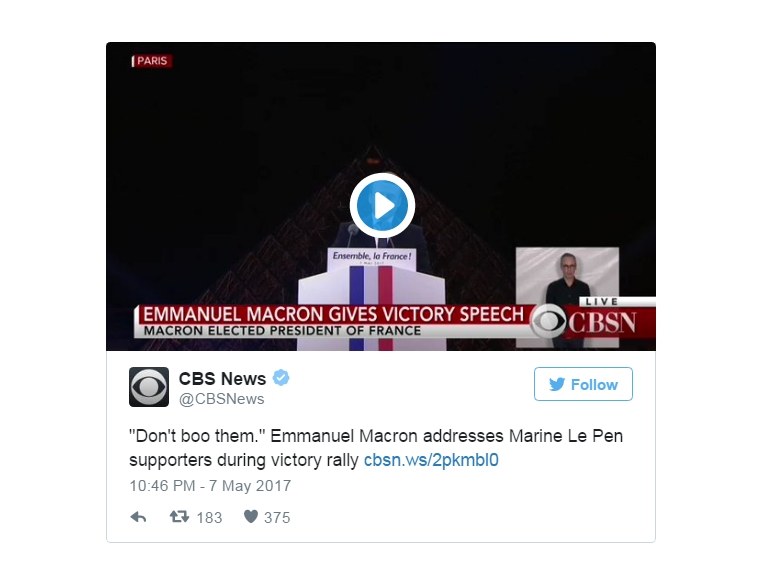 MyFrenchLife™ – MyFrenchLife.org - Emmanuel Macron - En Marche! - French presidential election - 2017 - Twitter