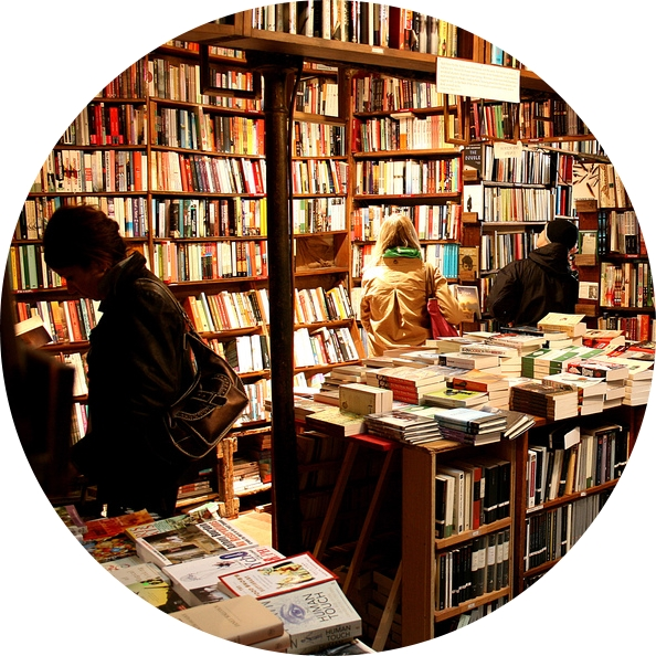 MyFrenchLife™ - Parisian bookshops - Abbey