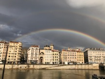 MyFrenchLife™ - MyFrenchLife.org - Lyon poetry guide: creativity made easy – channeling your inner French poet - double rainbow