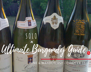 The final chapter – wine and wanderlust – the Ultimate Burgundy Guide
