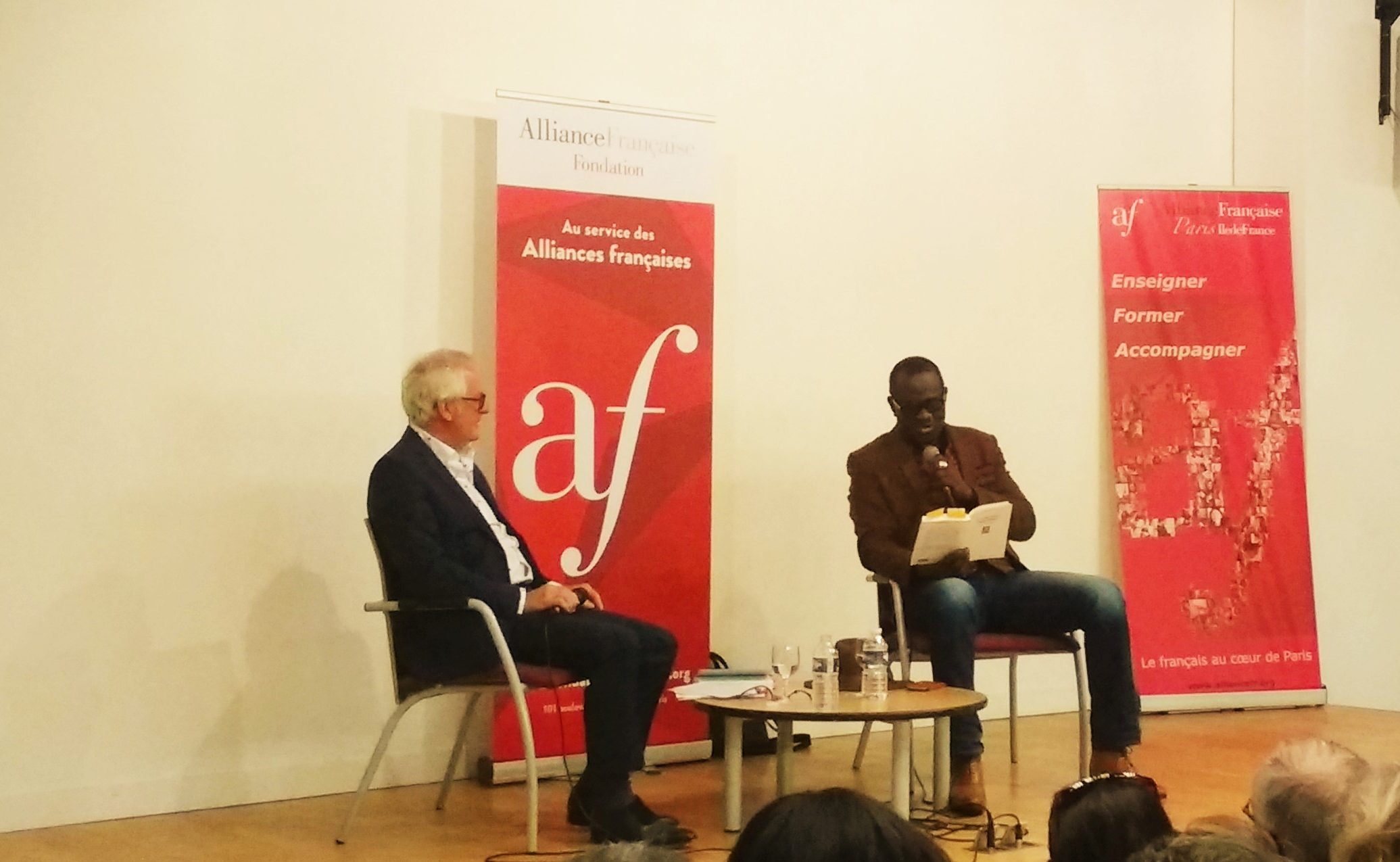 MyFrenchLife™ – MyFrenchLife.org – Alain Mabanckou – French books – le monde est mon langage – the world is my language – Alliance Francaise Paris – AFPIF – interview