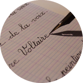 MyFrenchLife™ - French language - Handwriting in French