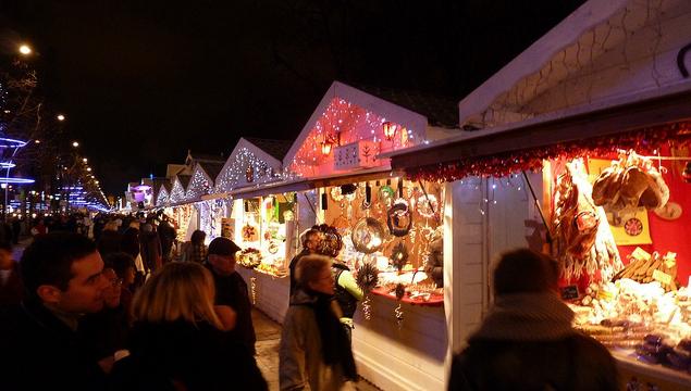 MyFrenchLife™ - Paris in December - Village de Noel
