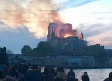 MyFrenchLife™ - MyFrenchLife.org - Holy Smoke - Notre Dame in flames