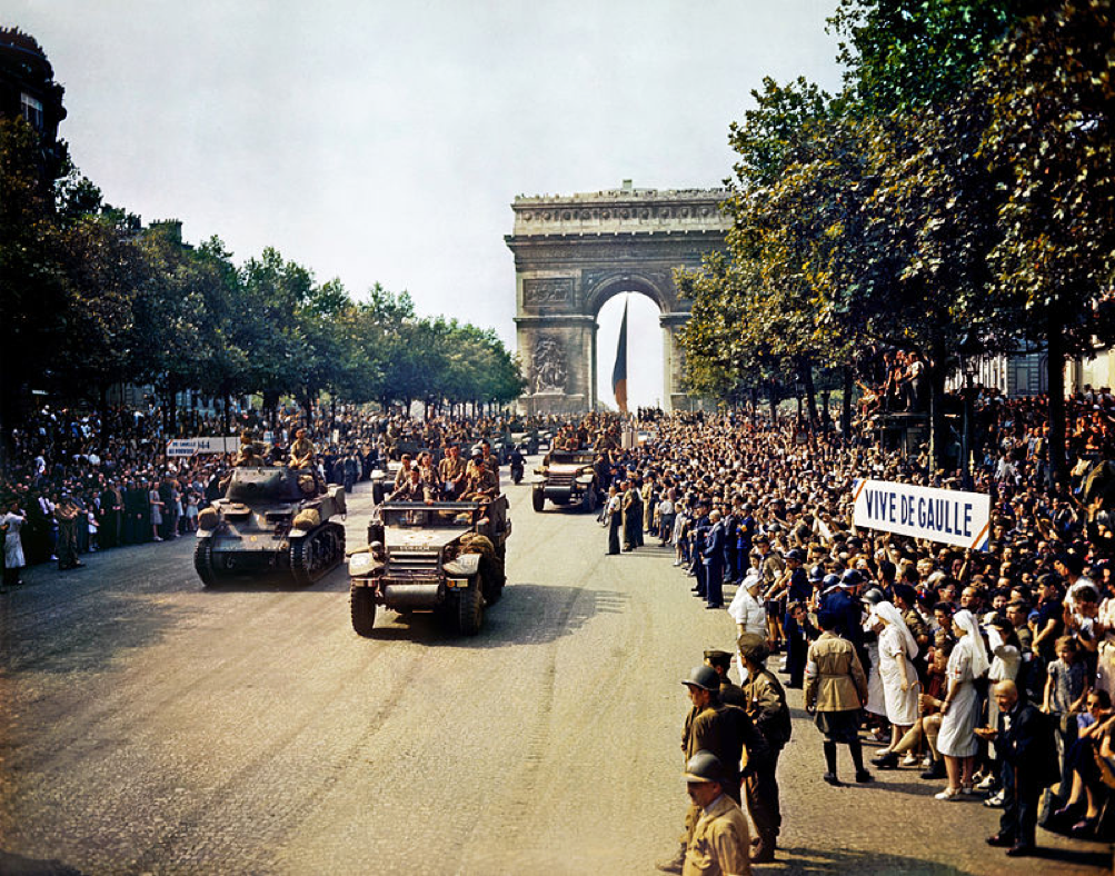 MyFrenchLife™ - defending paris - liberation - MyFrenchLife.org