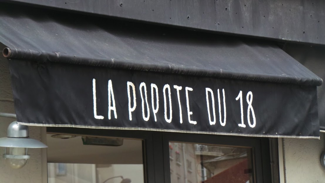 La Popote du 18 - Montmarte - eating on the go - Paris
