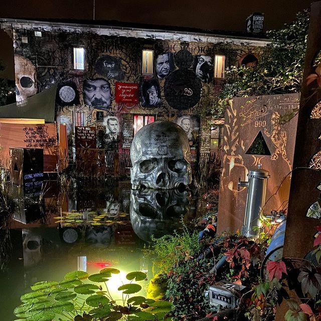 'MyFrenchLife™ 'MyFrenchLife™ - Abode of chaos - skull