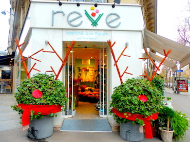 MyFrenchLife™ - florists in Paris - Rêve exterior