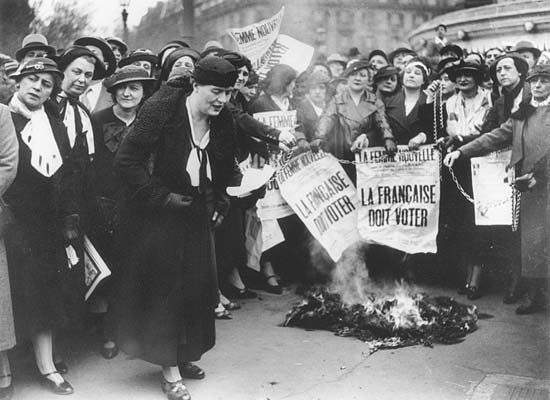 MyFrenchLife™ suffragettes