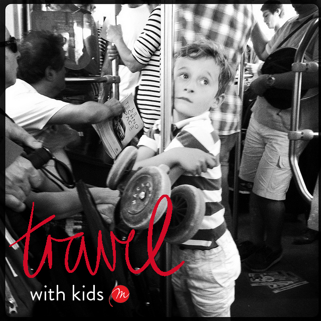 Savvy Francophile's guide to travel with kids - keeping them entertained