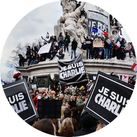 MyFrenchLife™ - French national identity - Paris Unity March 2015